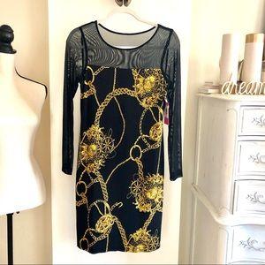NWT Isaak Mizrahi Chemise Dress. Size 6